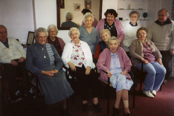 Some Of The Members Of A Day Group
